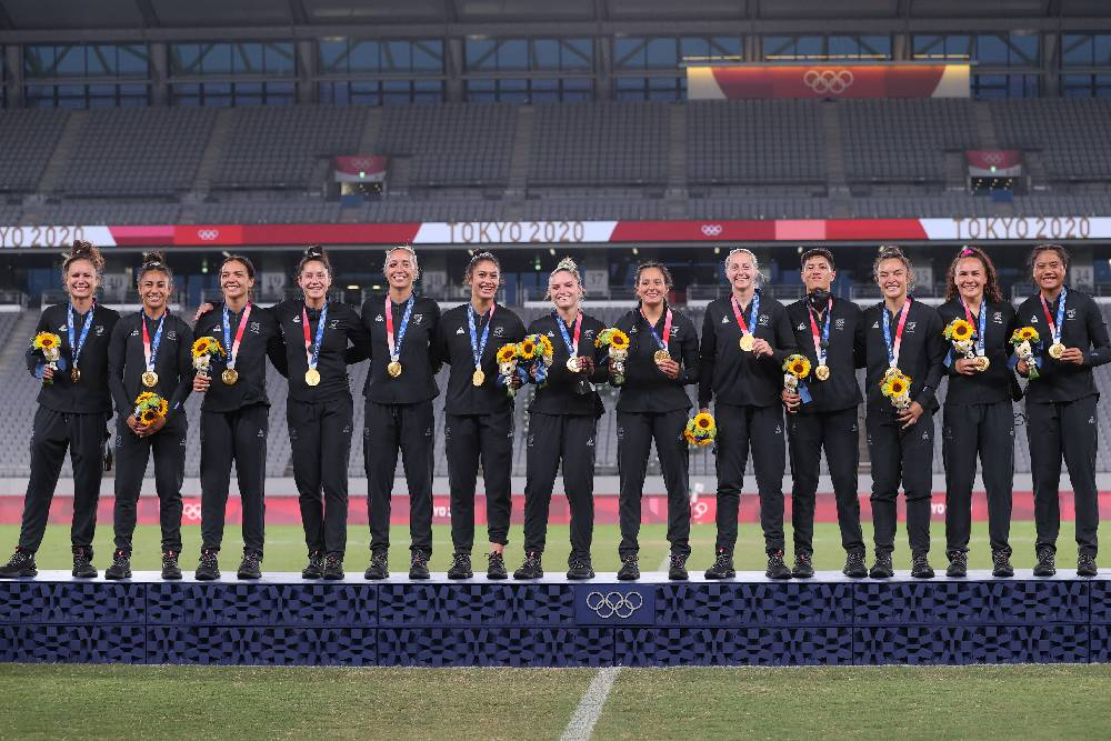 The Black Ferns have added an Olympic Gold to their World Series, RWC7s and Commonwealth Gold Medals.