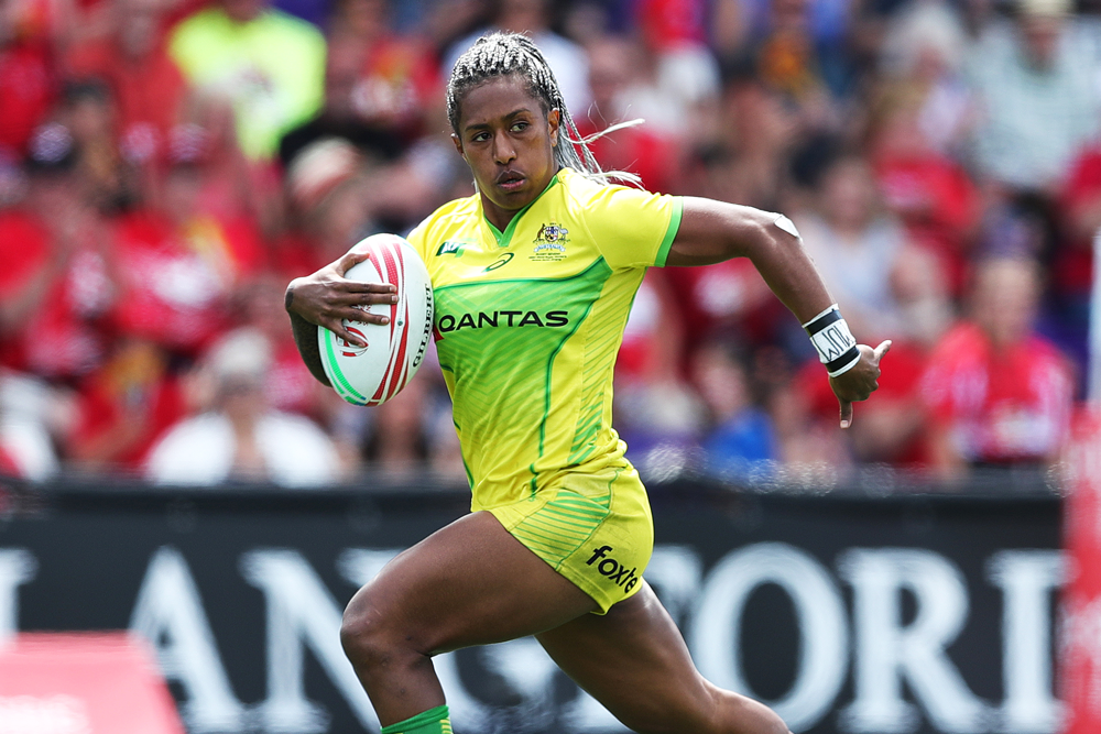 Ellia Green in action for the Aussie Sevens. Photo: Getty Images