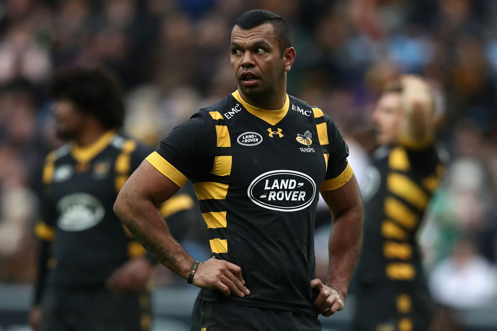 It was a tough day out for Wasps. Photo :Getty images