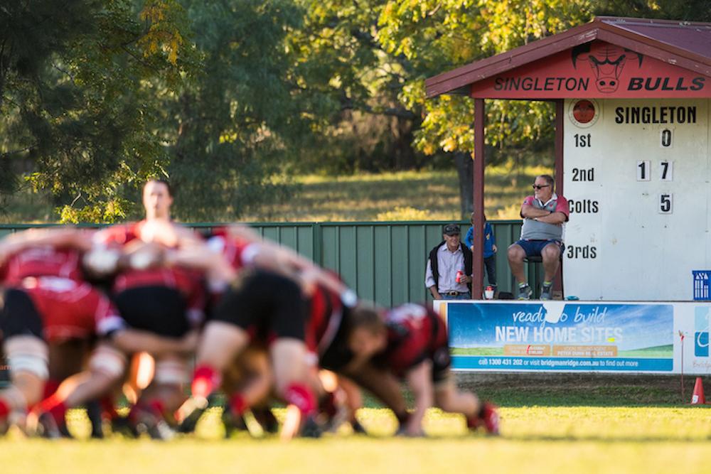 Community Rugby Scrum