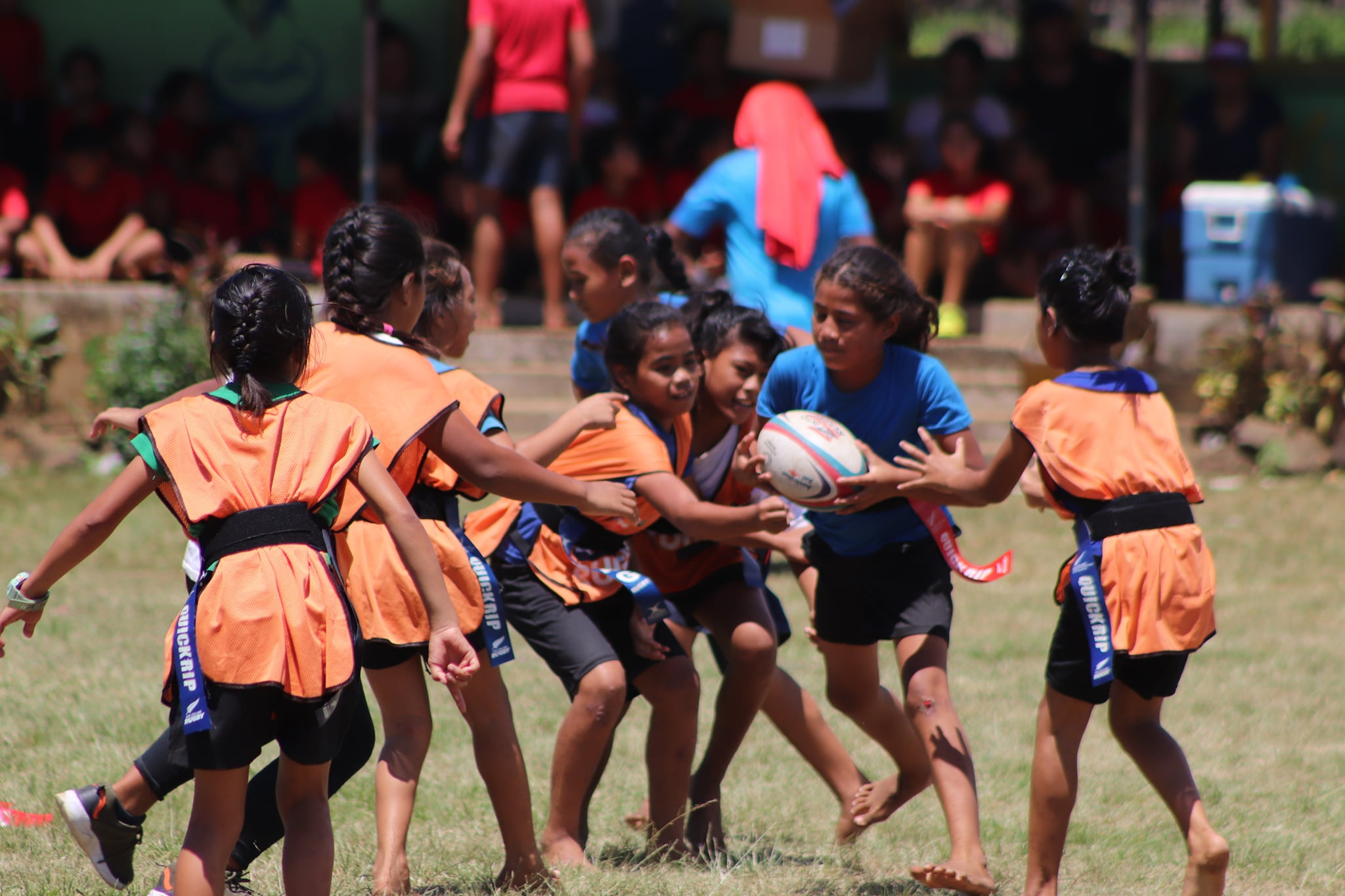 Get into Rugby/Quickrip Festival in the Aana 2 District at Mulifanua Primary School Field