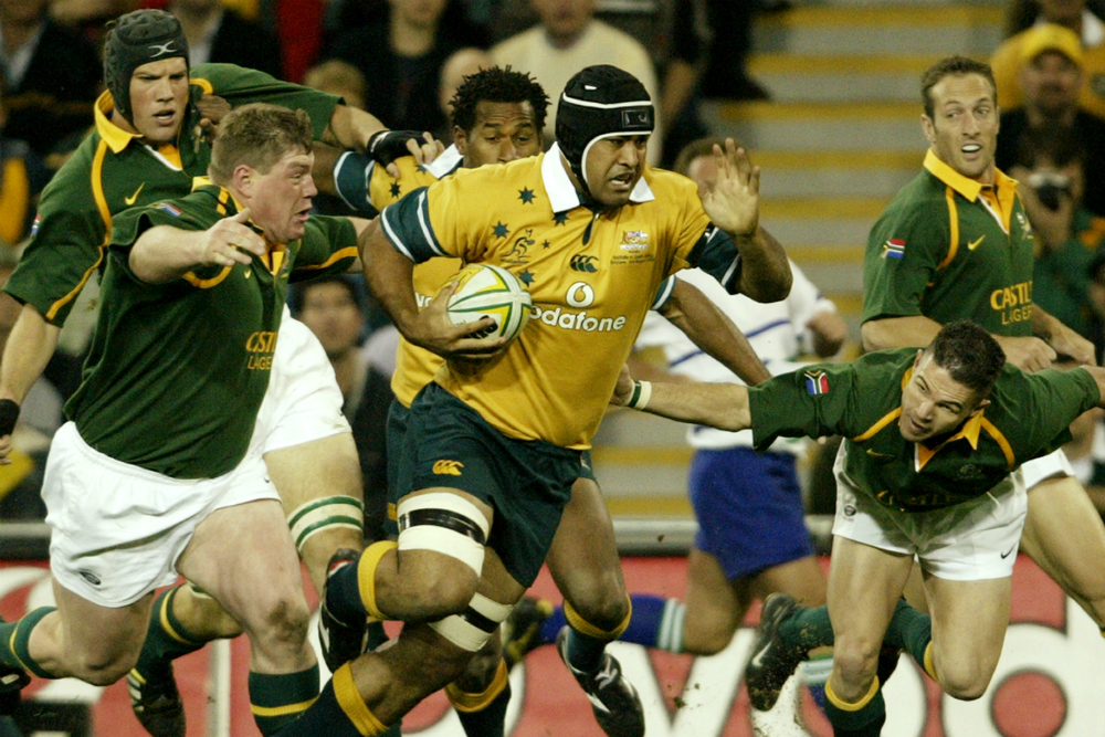 Toutai Kefu is excited to work with Tongan Thor. Photo: Getty Images