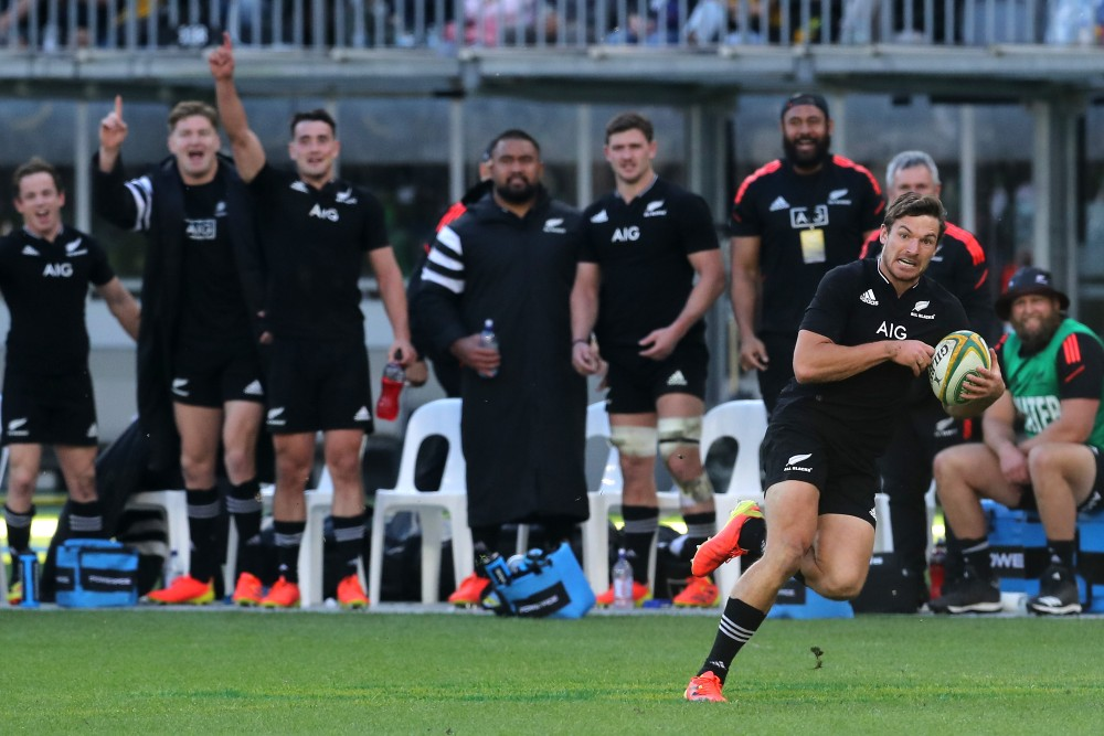 All Blacks have cruised to victory over the Wallabies. Photo: Getty Images