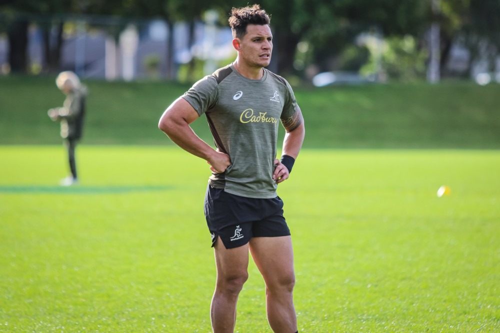 Matt To'omua is embracing a new role and depth in the Wallabies ahead of their first Test. Photo: Andrew Phan/Wallabies Media