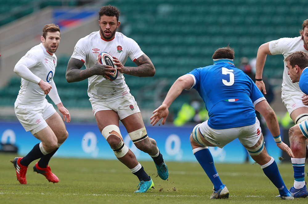 England suffered a blow ahead of their Six Nations clash with Wales on Saturday after Courtney Lawes was ruled out   Getty Images