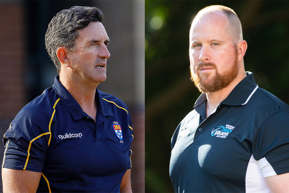 Blake and Rivers have both found new homes for 2022. Photo: Sydney Uni Media/Two Blues Media