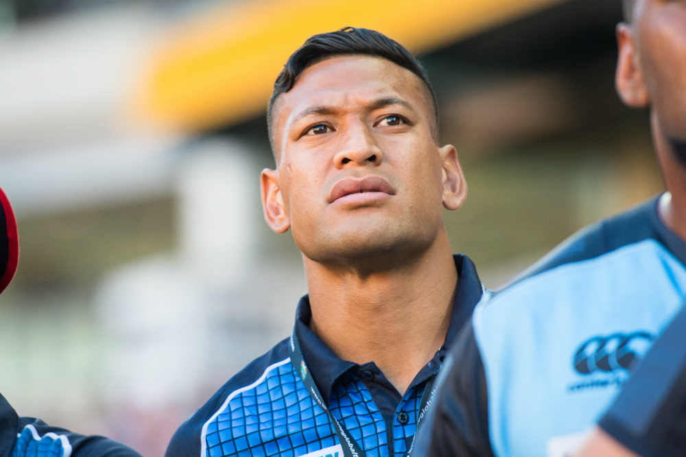 Israel Folau will be back in action for the Waratahs on Thursday. Photo: RUGBY.com.au/Stuart Walmsley
