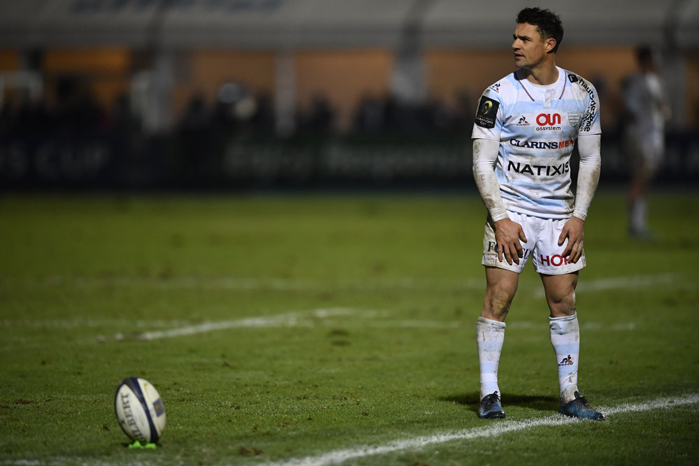 Dan Carter has been 'stopped for drink driving'. Photo: AFP