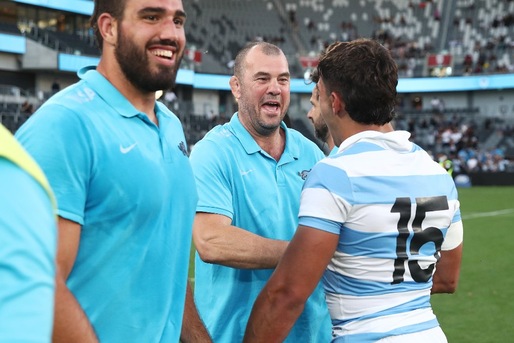 Argentina captain Pablo Matera says Michael Cheika instilled belief into the Pumas' side. Photo: Getty Images