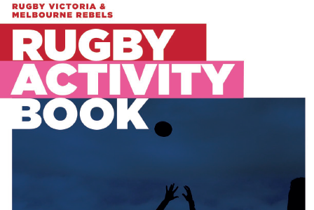 Rugby Victoria & Melbourne Rebels Activity Book