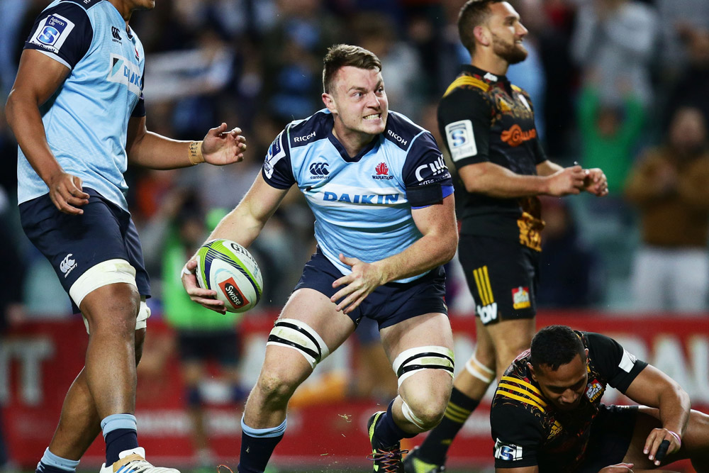 Jack Dempsey wants to make his mark in Super Rugby. Photo: Getty Images
