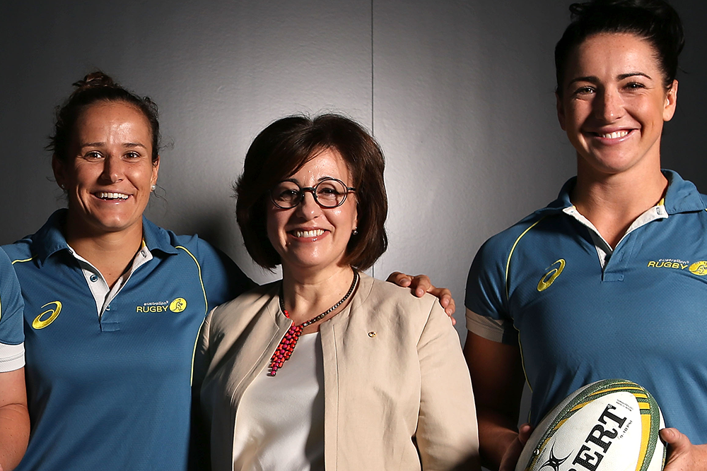 Josephine Sukkar has been a long-time servant of Australian Rugby. Photo: Getty Images