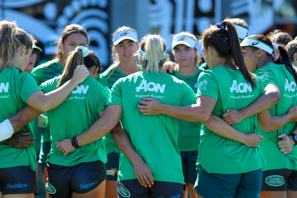 John Manenti has reaffirmed spots are still up for grabs ahead of the Oceania Sevens. Photo: Harrison Wakeling