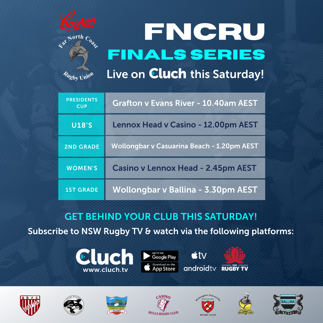 FNCRU Finals Series Flyer