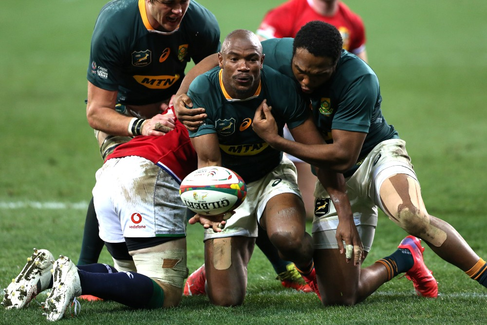 South Africa have cruised to victory over the British and Irish Lions. Photo: Getty Images