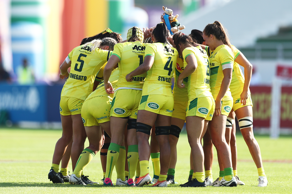 The Aussie women ranked third in a survey of the emotional connection between fans and national sports teams. Photo; Getty Images