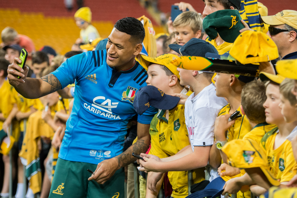 Folau flirted with a move to Queensland. Photo: RUGBY.com.au/Stuart Walmsley