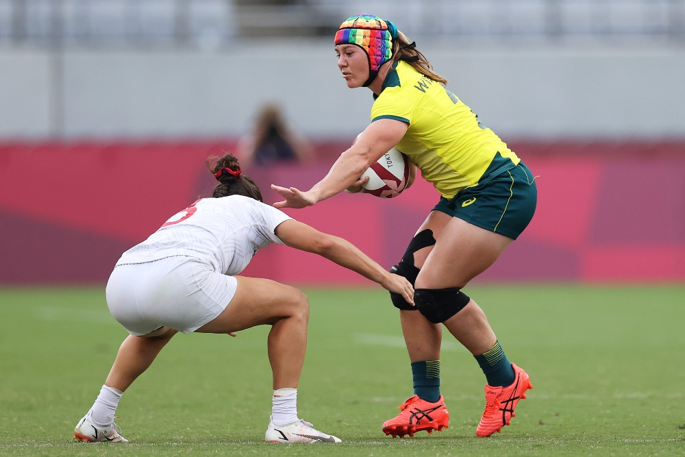 The Sevens side have ended on a high after defeating USA. Photo: Getty Images