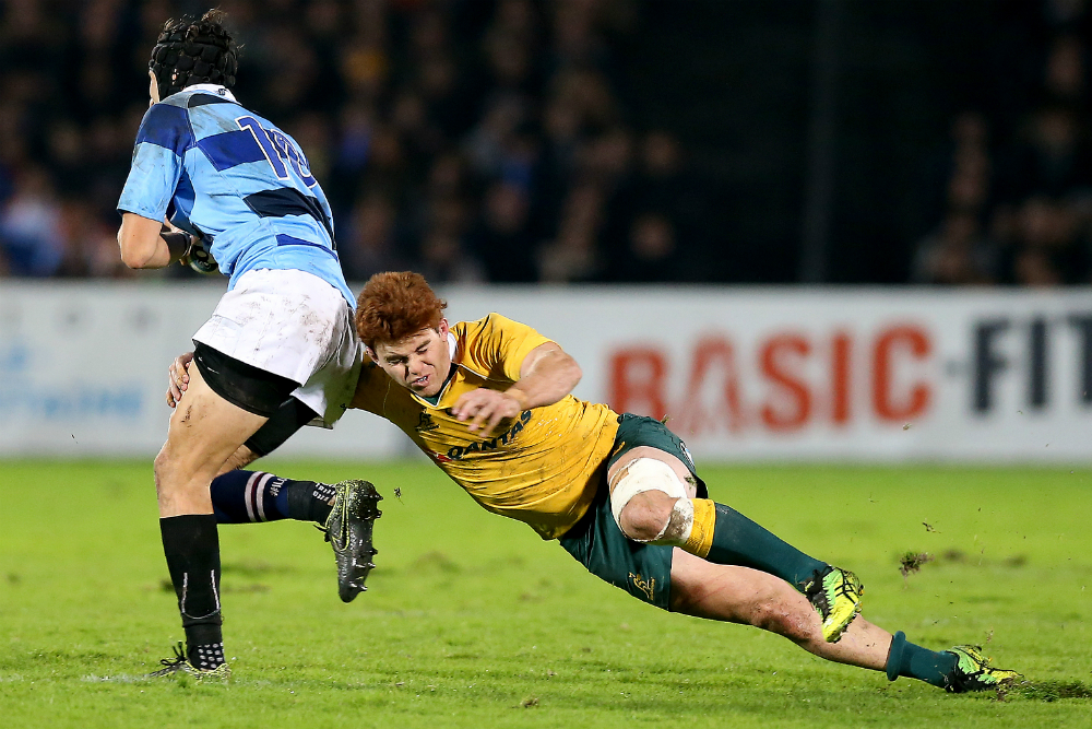 Kellaway went on the Wallabies Spring Tour as a Development Player in 2016. Photo: Getty Images