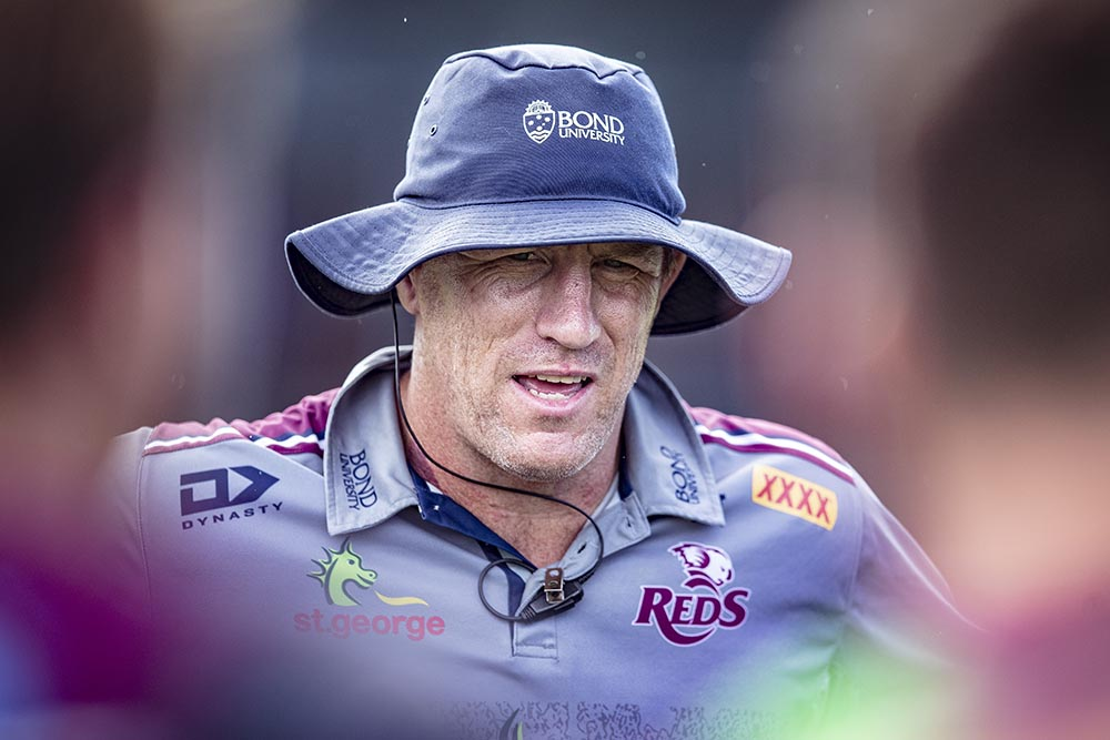 Brad Thorn is staying with the Queensland Reds until at least 2021.
