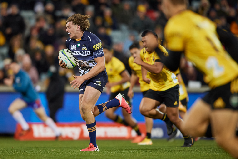Bayley Kuenzle is among three Brumbies heading West. Photo: Getty Images