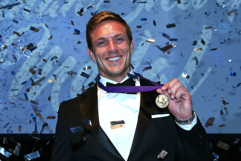 Dane Haylett-Petty has won the Nathan Sharpe Medal. Photo: Getty Images
