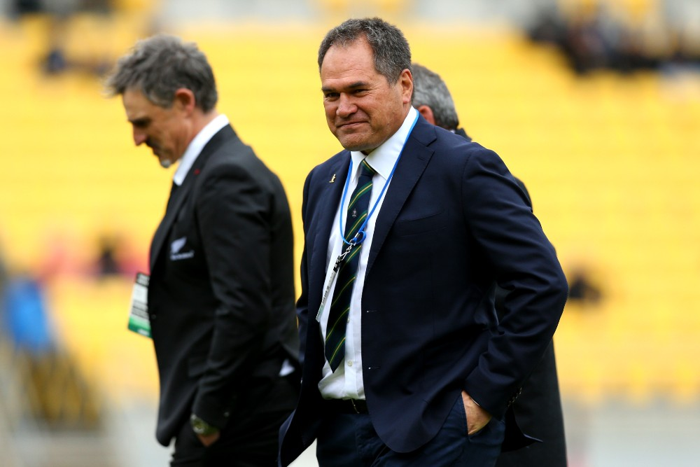 World Cup-winning All Blacks coach Graham Henry says Dave Rennie should be coaching New Zealand not the Wallabies. Photo: Getty Images
