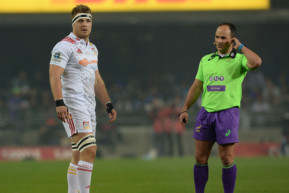 SANZAAR is putting power back in the on-field referees' hands. Photo: Getty Images