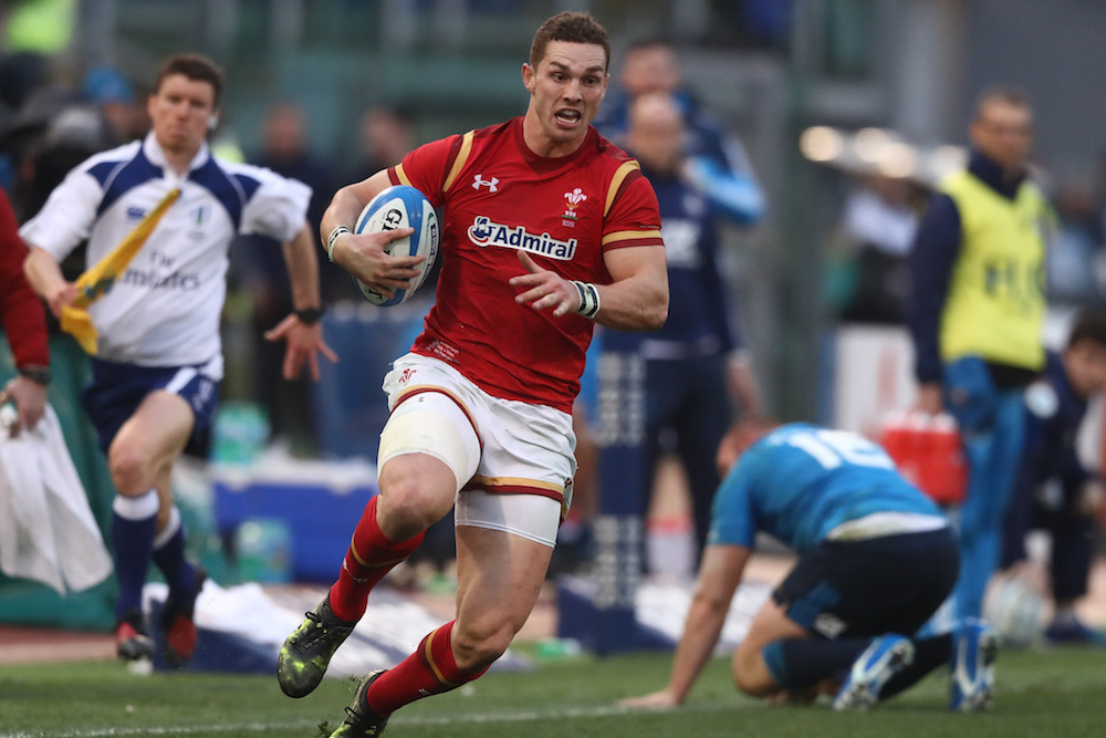George North back to his best for Wales. Photo: Getty Images