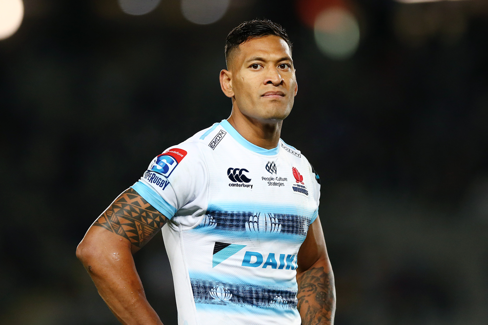 Rugby Australia intends to sack Israel Folau over his social media use. Photo: Getty Images