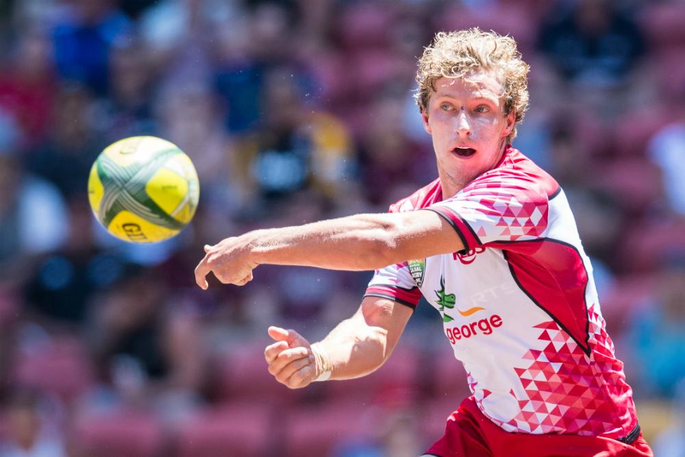 The playmaking burden falls on Jake McIntyre against the Jaguares. Photo: RUGBY.com.au/Stuart Walmsley