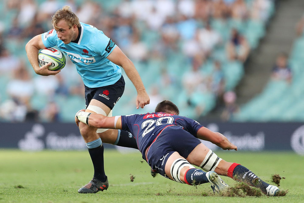 Will Miller will play at blindside flanker on Saturday afternoon. Photo: Getty Images