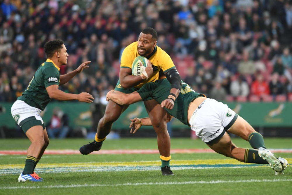 Samu Kerevi is reportedly set to join the Wallabies squad. Photo: Getty Images