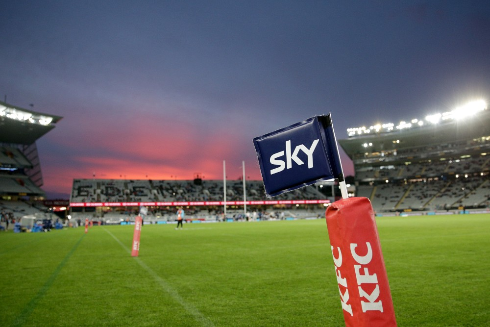 The Blues will welcome the Western Force to Eden Park as they attempt to book a home final. Photo: Getty Images