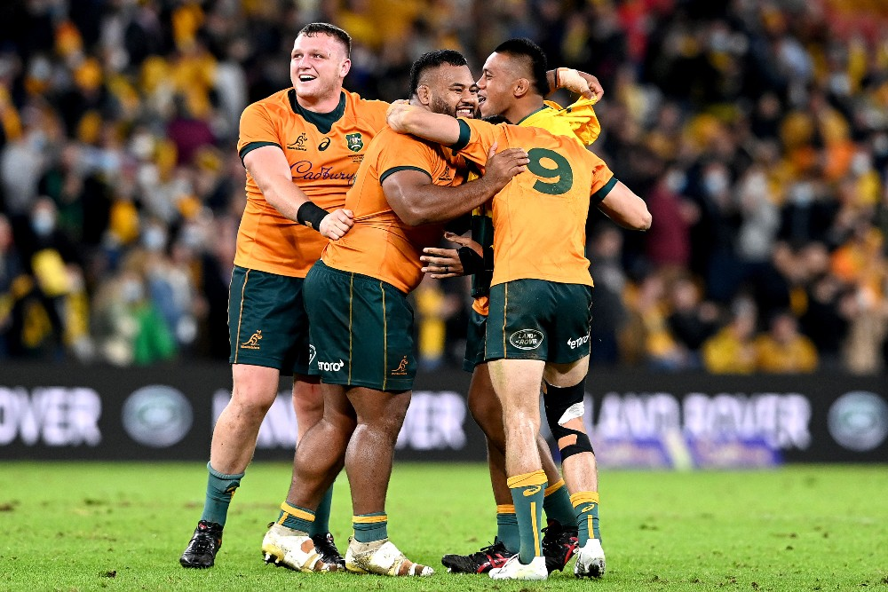 The Wallabies pull off the great escape against France Photo: Getty Images