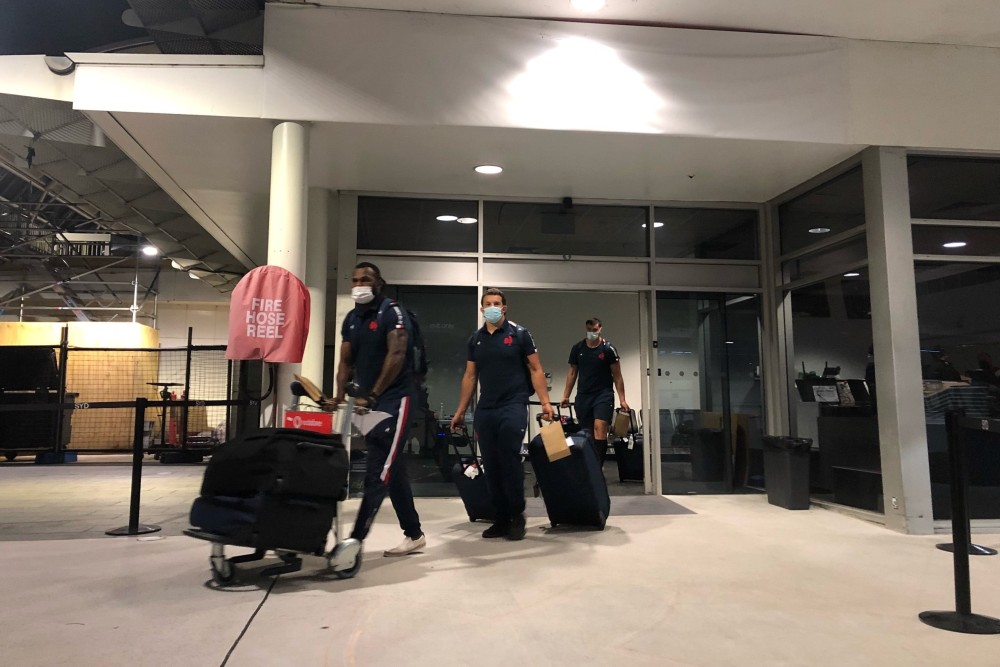 The French have landed ahead of their three-Test series. Photo: France Rugby