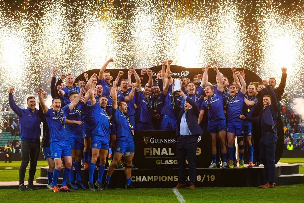CVC has bought a stake in the Pro14. Photo: Twitter/Leinster