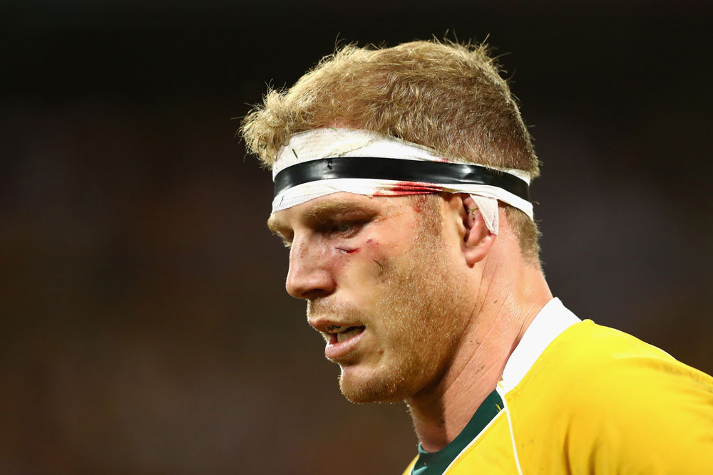 David Pocock will miss the remainder of the June Tests. Photo: Getty Images