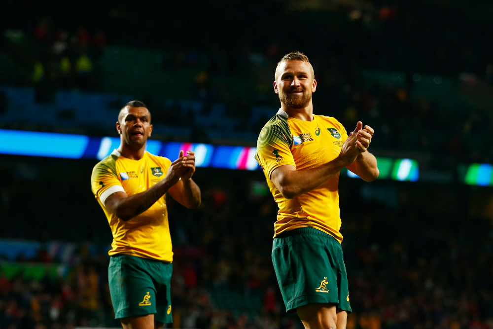 'Giteau's Law' was introduced last year allowing players to play overseas and still represent the Wallabies if they have 60 or more caps. Photo: Getty Images