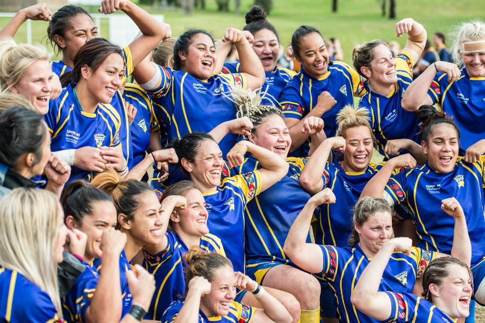 Sydney went back-to-back on Sunday. Photo: ARU Media/Stu Walmlsey