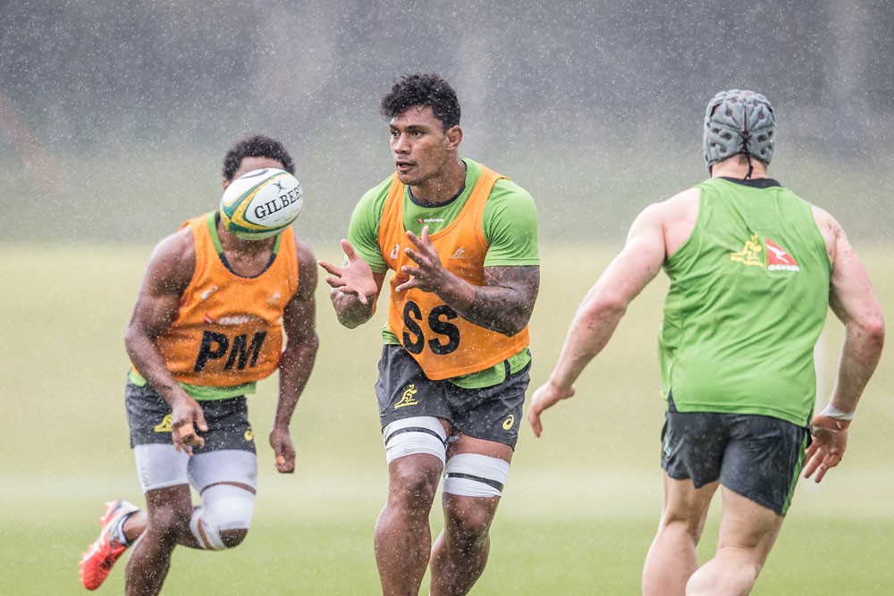 Timani has impressed at Wallabies training. Photo: ARU Media/Stu Walmsley