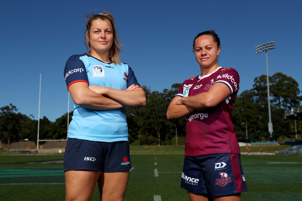 The Super W Final will once again be contested by the Waratahs and Reds. Photo: Getty Images