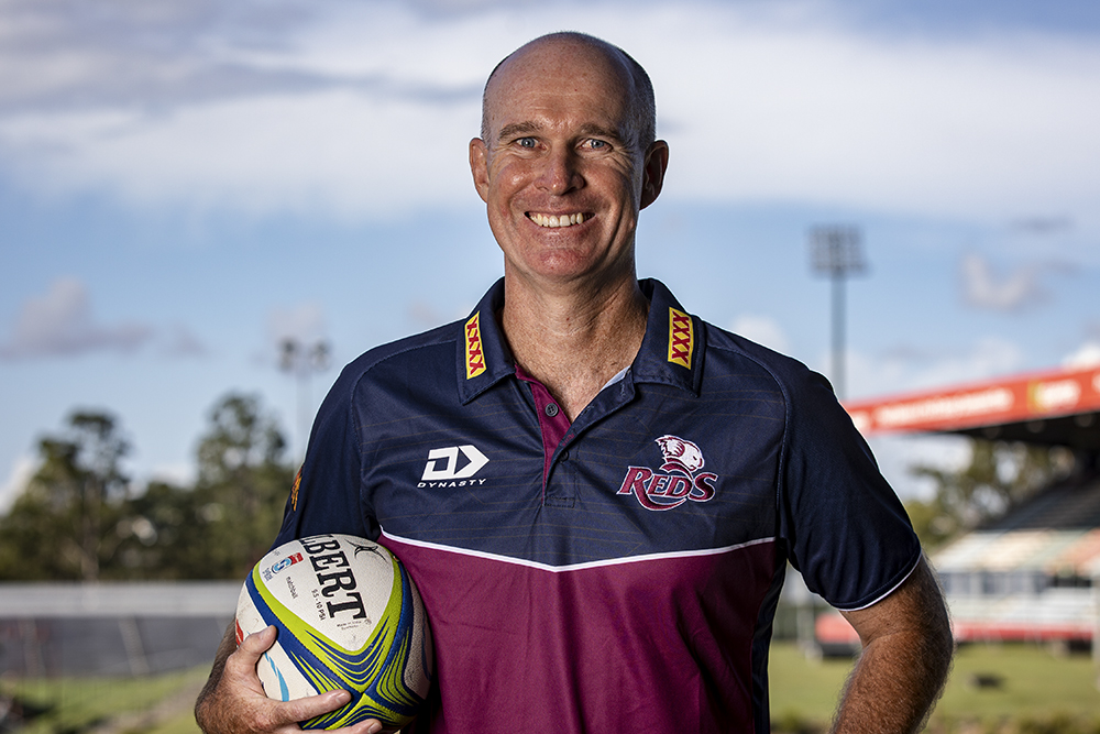 Dale Roberson appointed the new Reds Academy coach. Photo: Brendan Hertel/QRU