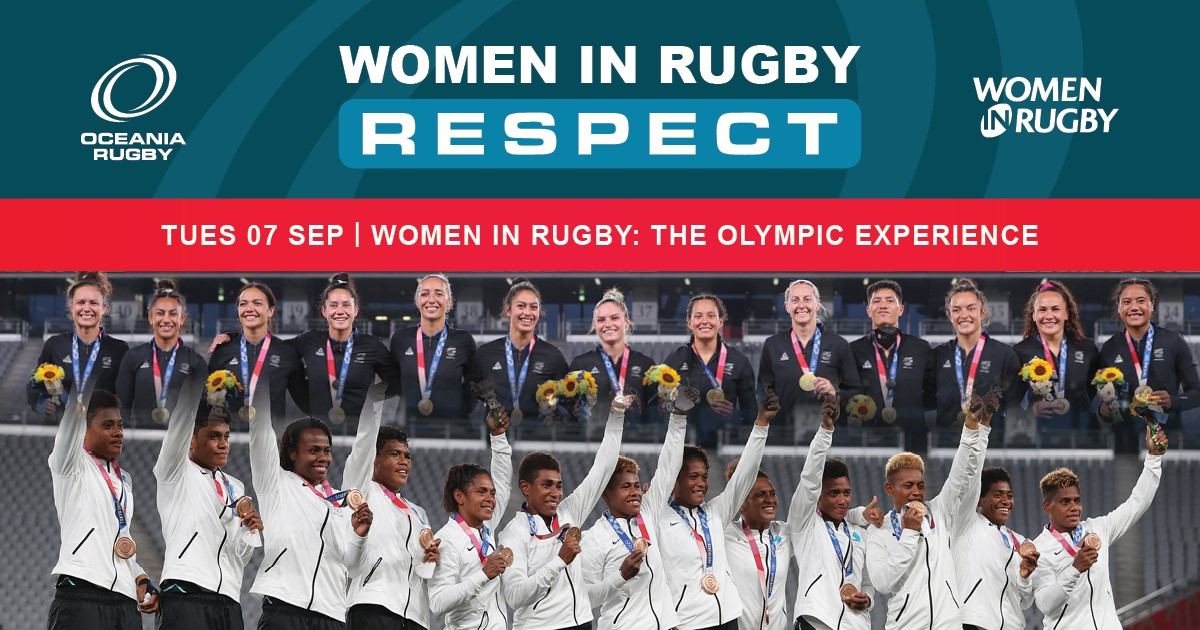 Women in Rugby: Webinar - Olympic Experience ad