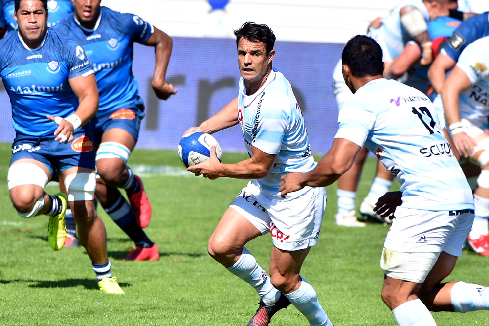 Dan Carter in action for Racing 92. Photo: AFP