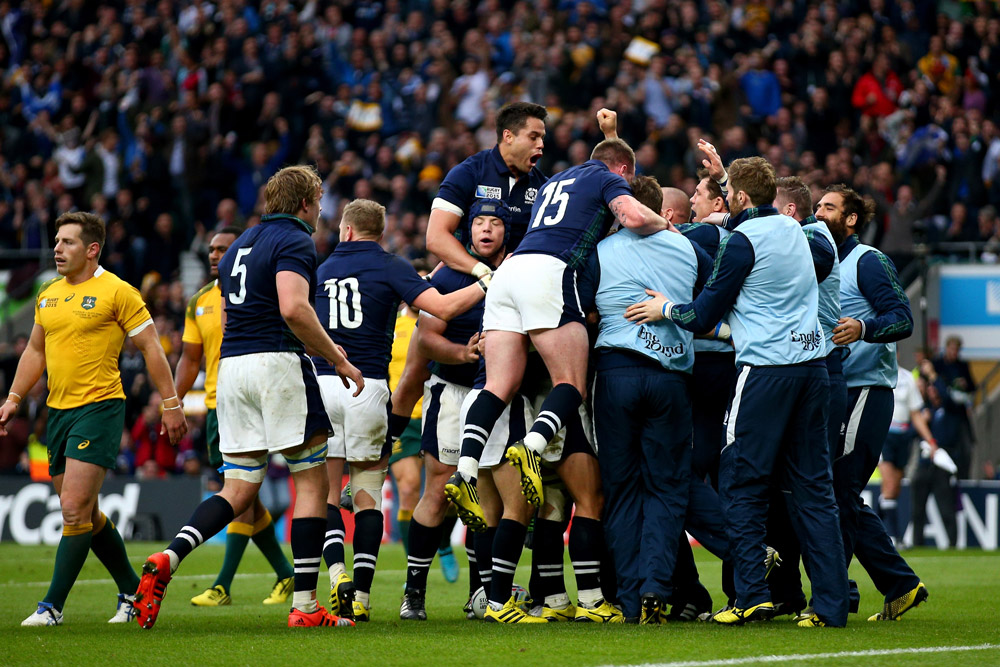 Scotland is keen to prove itself against Australia again. Photo: Getty Images