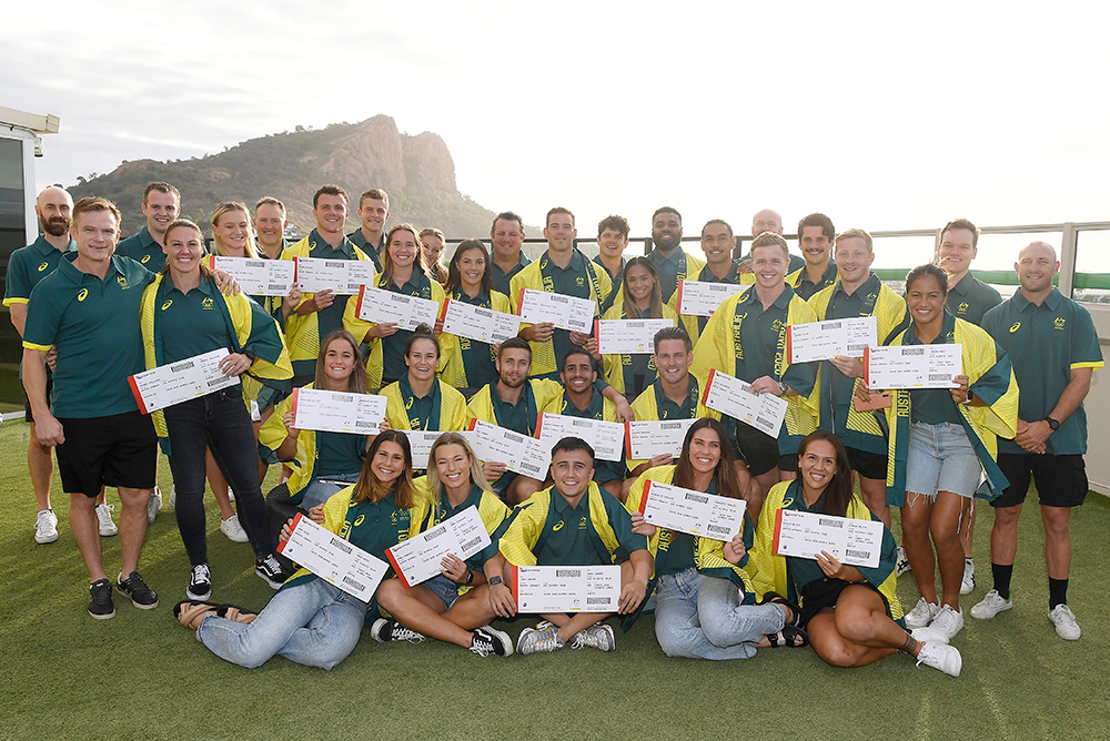 Australia's 2020 Olympic Contingent | Getty Images