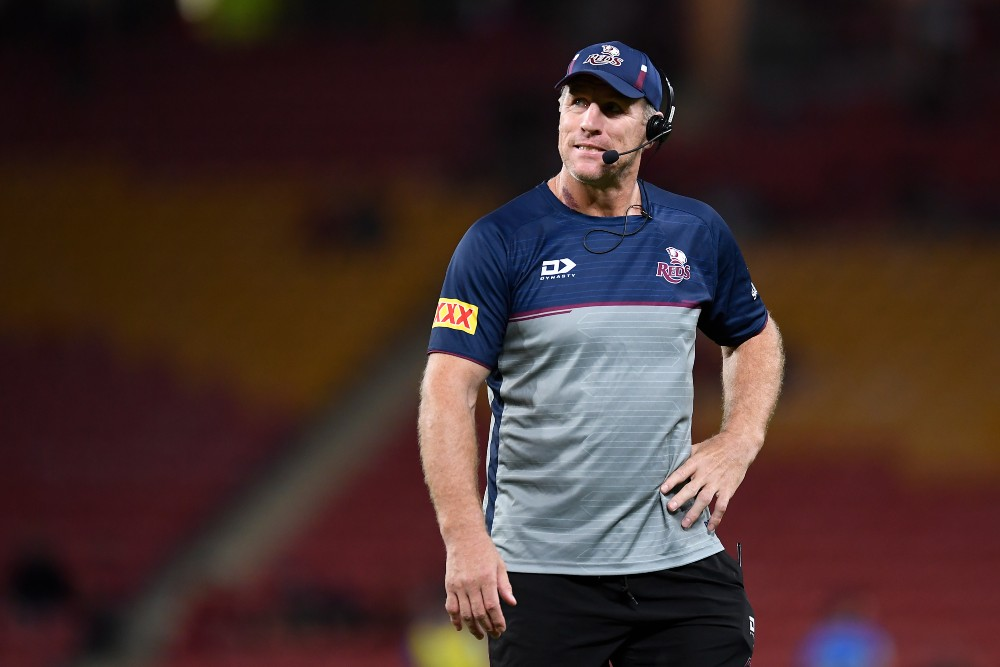 Reds coach Brad Thorn has defended the decision to change captains ahead of the Final. Photo: Getty Images