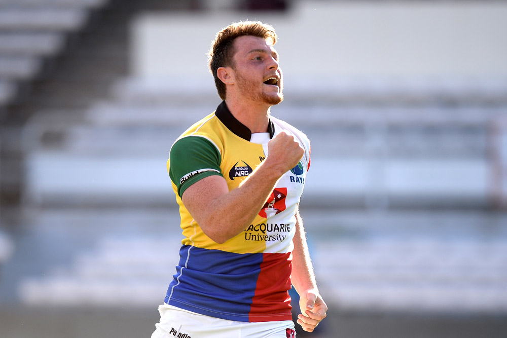 Jack Dempsey is relishing his time in the NRC. Photo: Getty Images