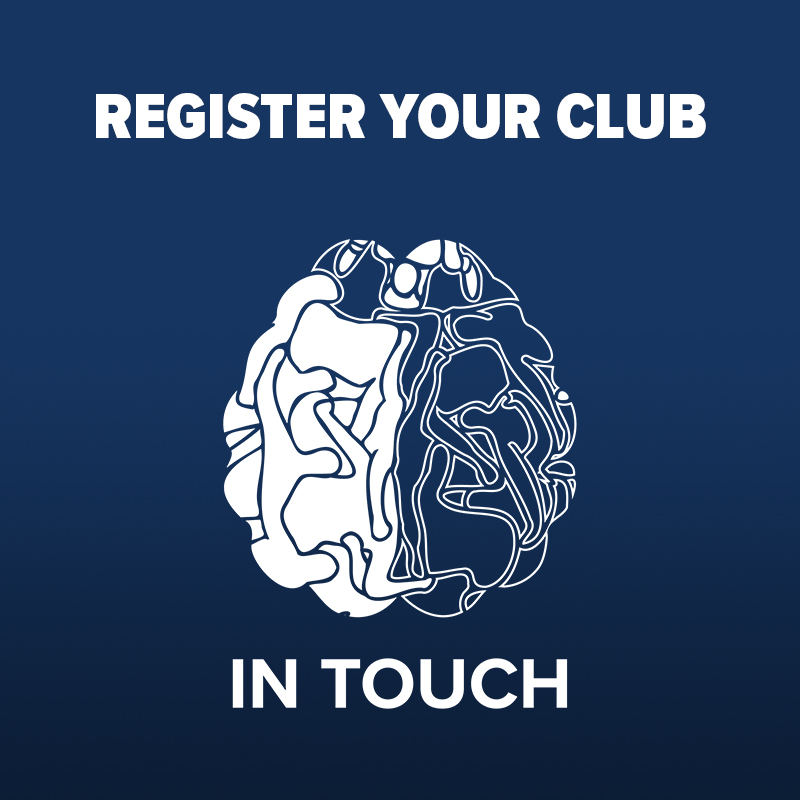 In Touch Register your Club